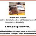 Fideszke már nincs! F.MPSZ van!