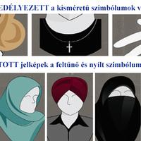 Kereszt viselése legyen tiltott Magyarország közintézményeiben