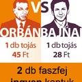 Orbán és Bajnai tojásai
