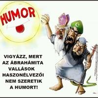 Ábrahámiták nem szeretik a humort