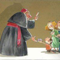 Hit- és erkölcsoktatás kezdeti ceremóniája