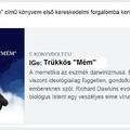 Trükkös Mém című memetikai könyv