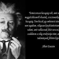 Einstein szabadgondolkodó volt