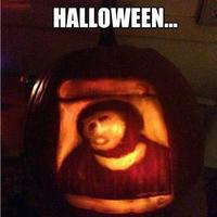 Halloween moncsijézus töklámpás