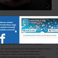 Facebook zsebéből kiesik a világ
