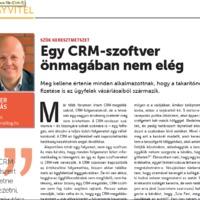 Egy CRM szoftver önmagában nem elég