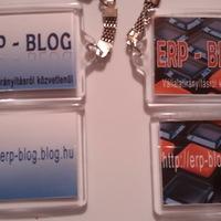 ERP - BLOG kulcstartó