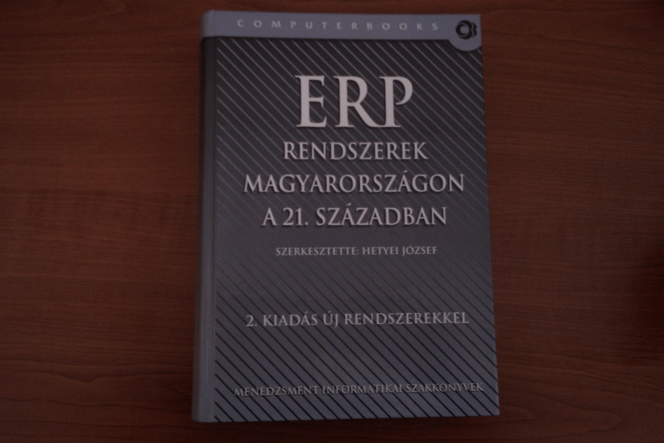 Könyvajánló: ERP rendszerek Magyarországon a 21. században