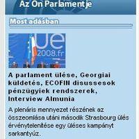 Az Európai Parlament egy üléses kampányt sarkantyúz