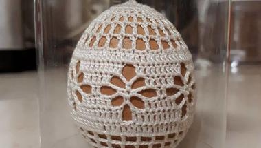 Egyetlen darab készül évente ebből a makói horgolt tojásból #értékesötletek