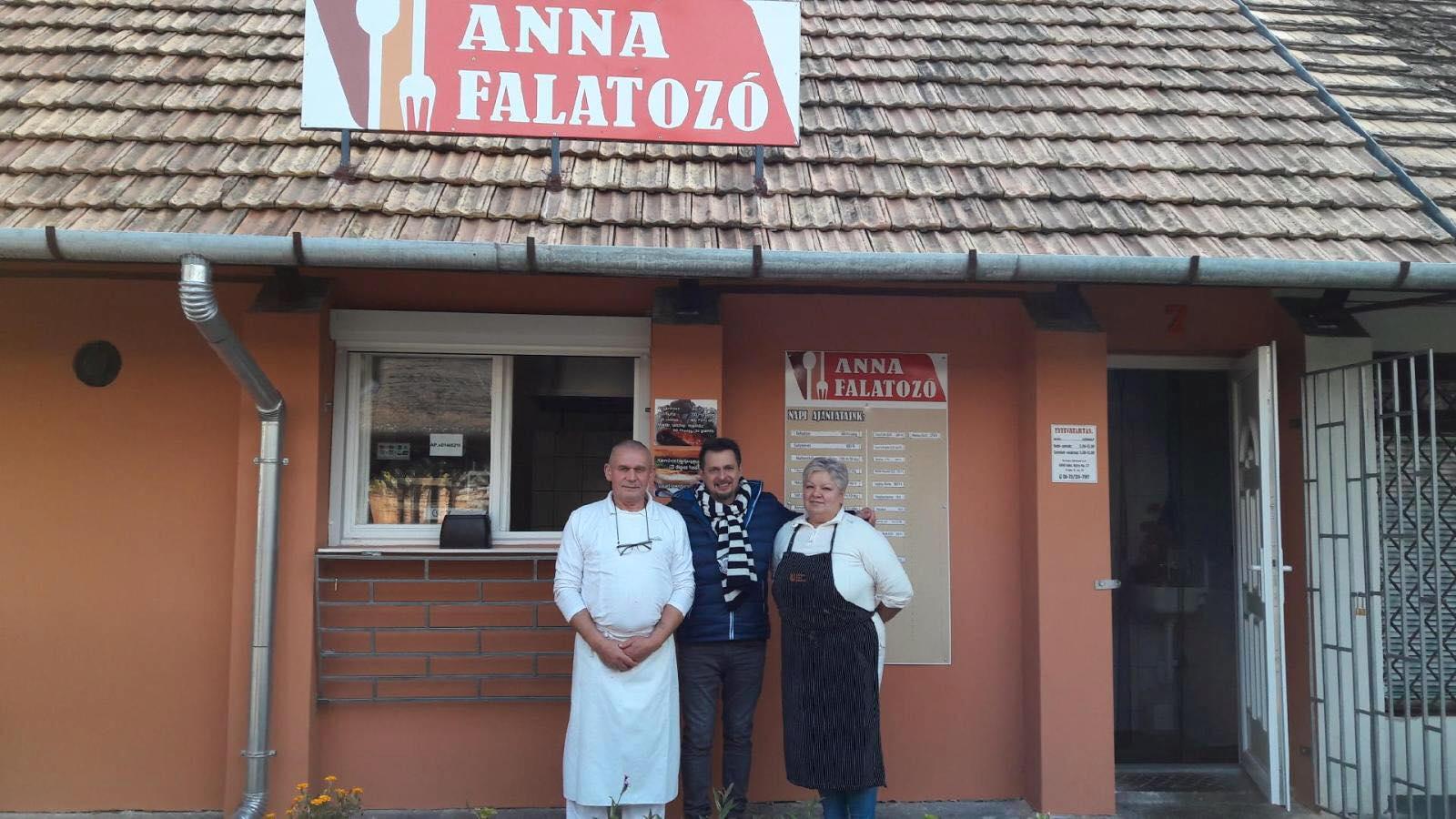 Karácsonyi menüt az Anna Falatozóból!