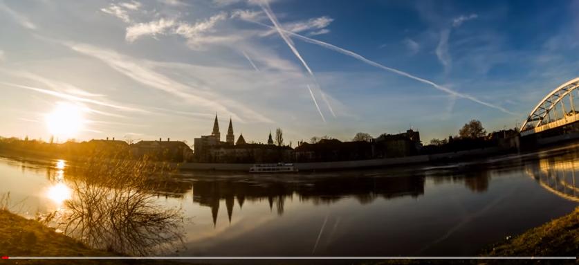Itt egy karácsonyi time-lapse Szegedről! #értékesötletek