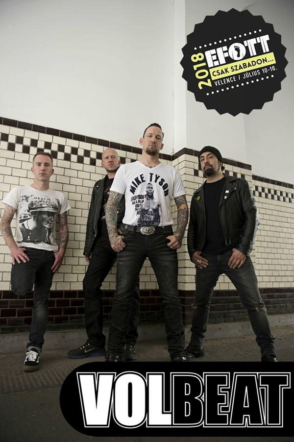Nem bírta visszafogni magát az EFOTT-ra látogató Volbeat #értékesötletek