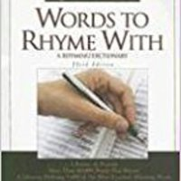 Words To Rhyme With: A Rhyming Dictionary (Facts On File Writer's Library) Willard R. Espy