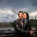 Edina és Lóránt_jegyesfotó
