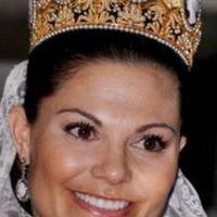 A svéd koronahercegnő esküvői fejdísze