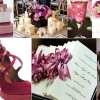 Rózsa esküvői színek
