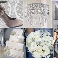 Szürke esküvői színek