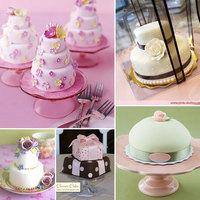 Mini esküvői torták