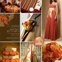 Az ősz színei: narancs és barna