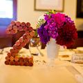 Asztalszám parafadugóból