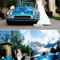 Old timer az esküvőn