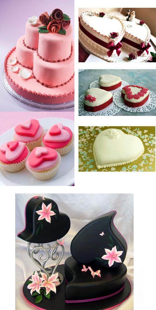 szív alakú esküvői torta Szív alakú esküvői torták   Esküvői blog szív alakú esküvői torta