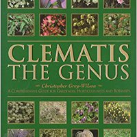 ;;DJVU;; Clematis: A Gardener's Guide To The Genus. diseases programa cumbres October cabida world policies