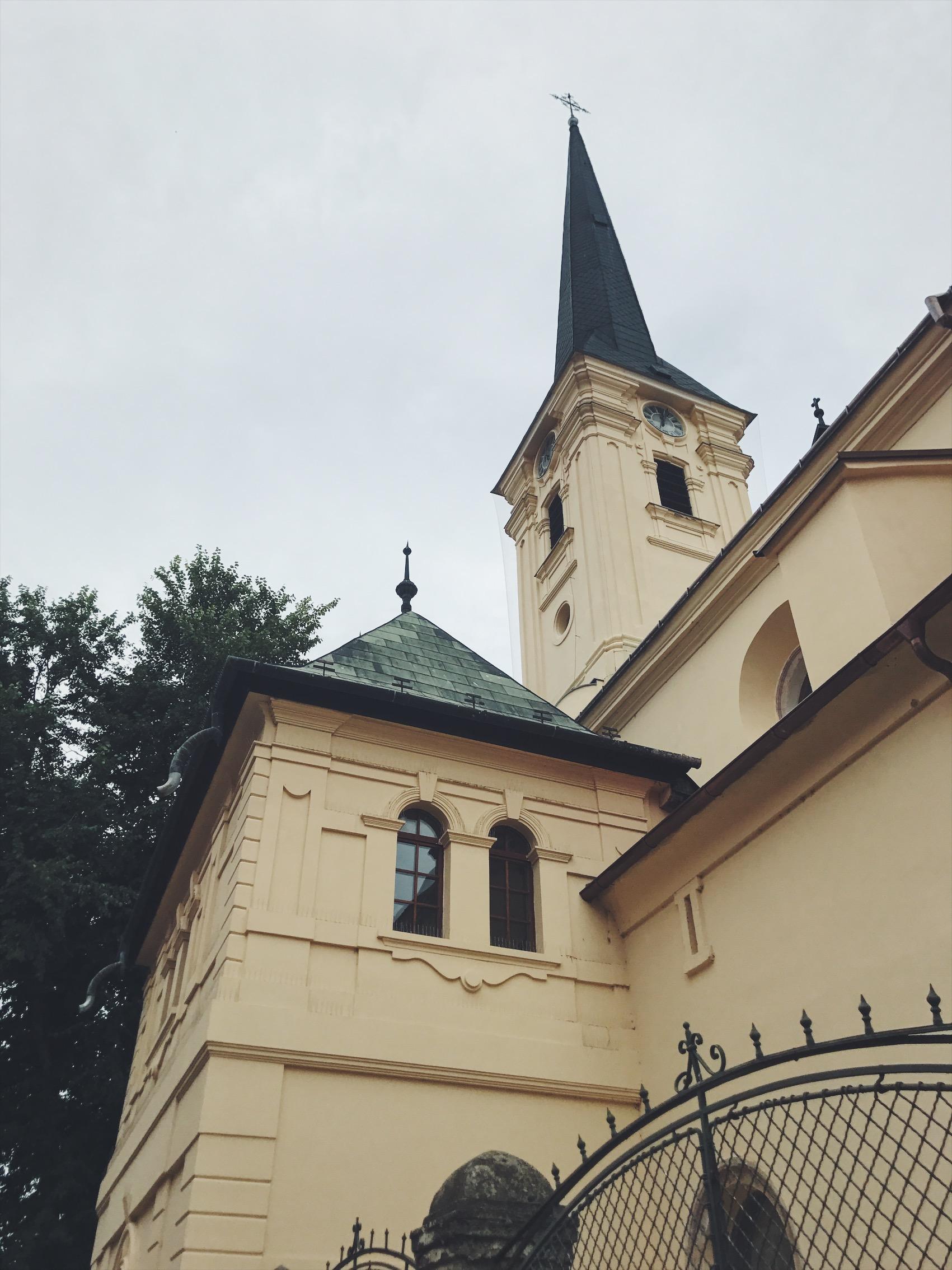 Érsekújvári Plébánia templom