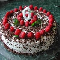 Eper / málna torta