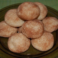 Fahéjas gombócok (teasütemény)