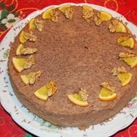 diótorta - citromos, csokis