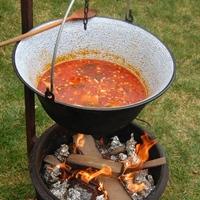 Az idei első grillezés - avagy a férfak, ha főznek