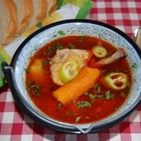 Csirkegulyás (leves)