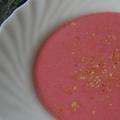 Málna/eper krémleves (főzés nélkül)