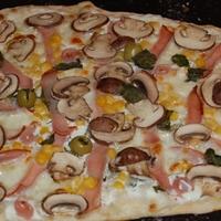 pizza és calzone - avagy a férfi, ha főz
