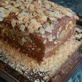Csokitorta (ganache krém mascarponeval)