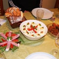 Retró vacsora