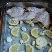 Citromos sült csirke