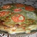 spenótos palacsintatorta - avagy anyukám főztje