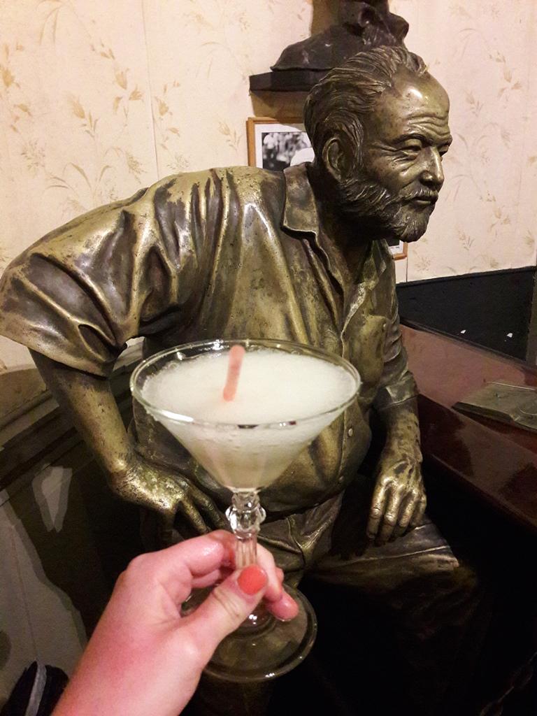 Hemingway kedvenc daiquiryje az El Floriditaban