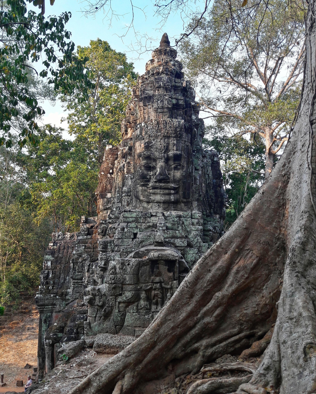 Angkor Thom kapuja