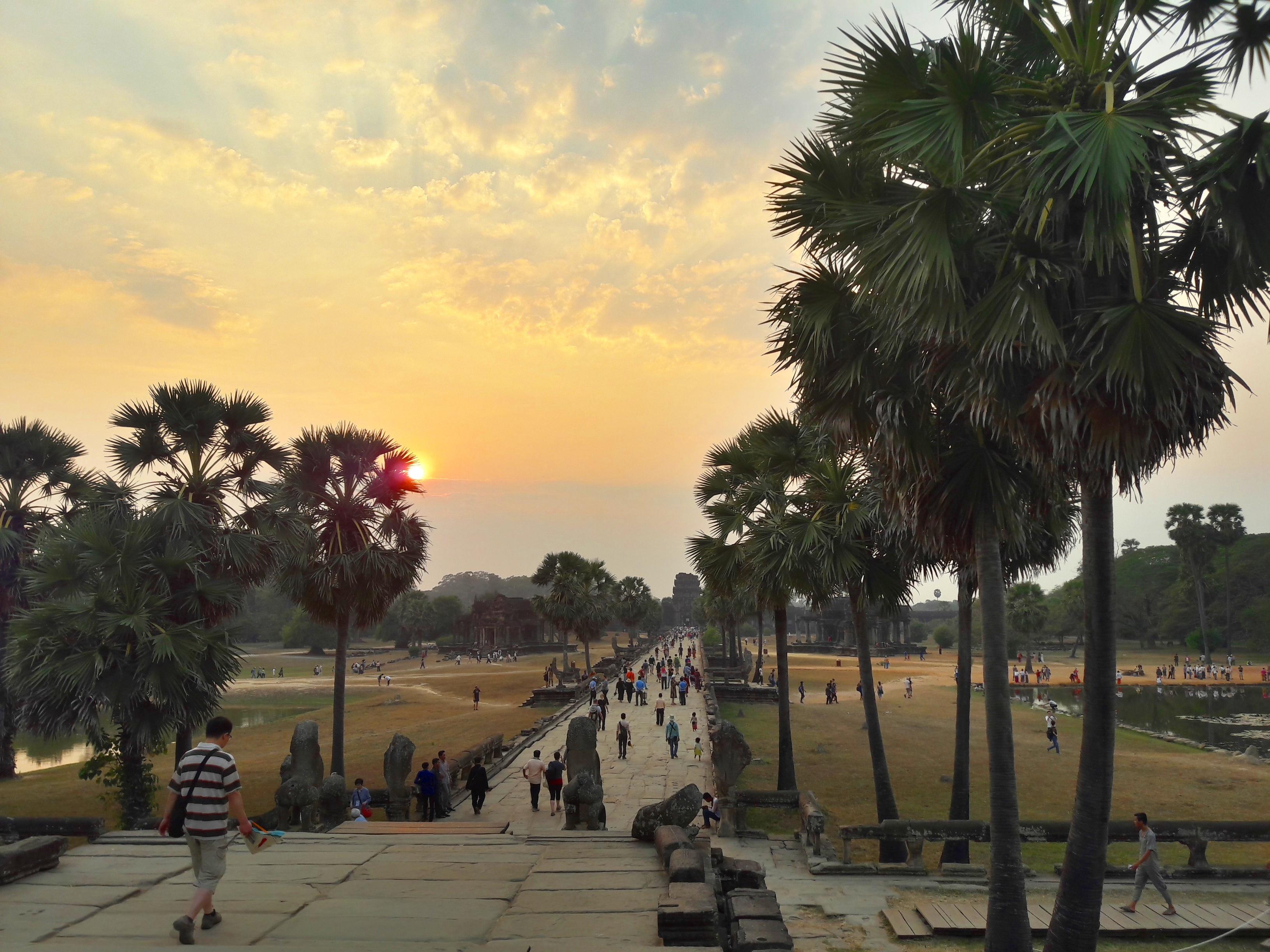 Angkor Wat - Naplemente