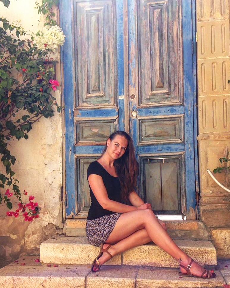 A kedvenc ajtóm Jaffában