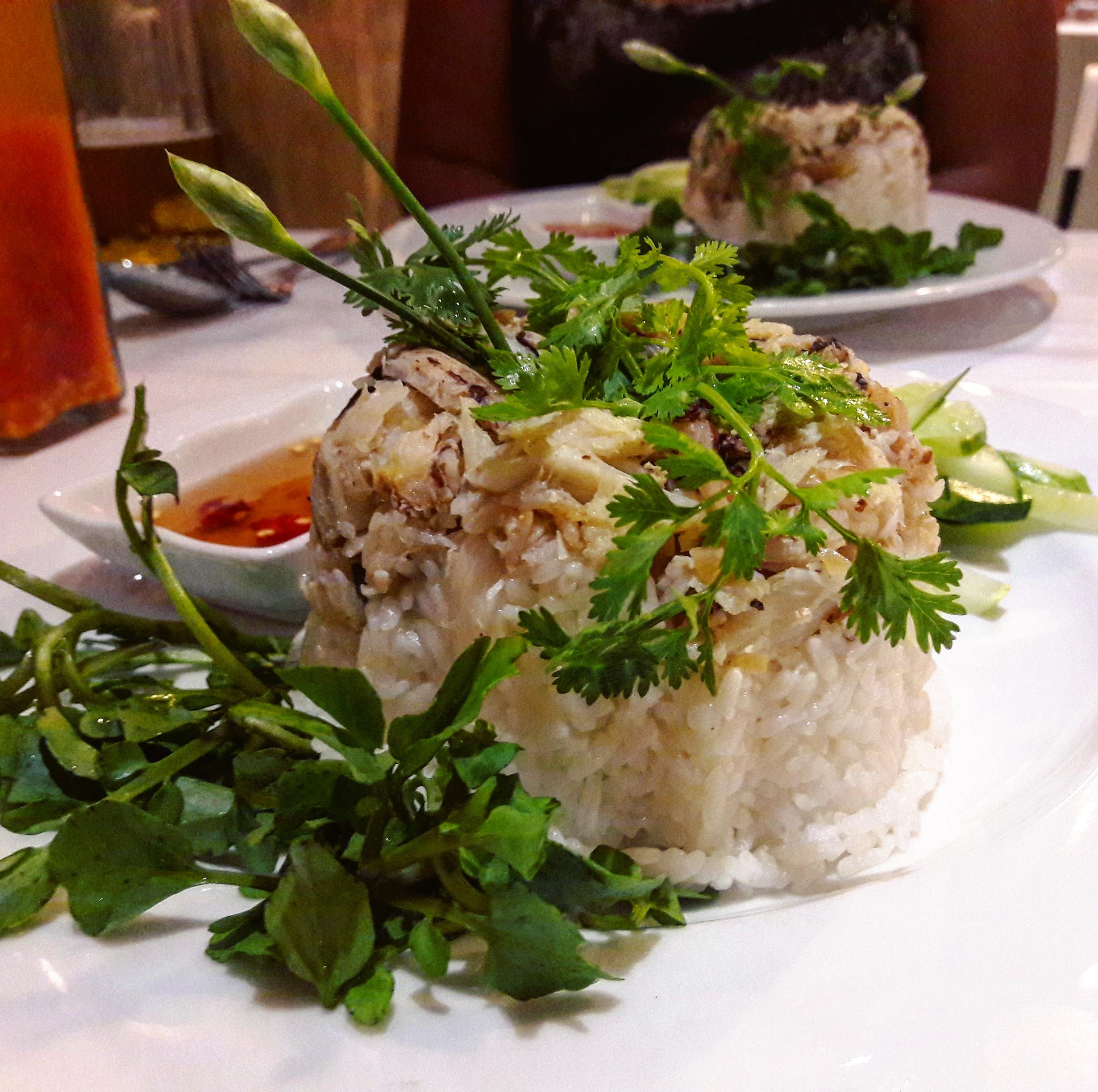 Homáros rizs @Crab House