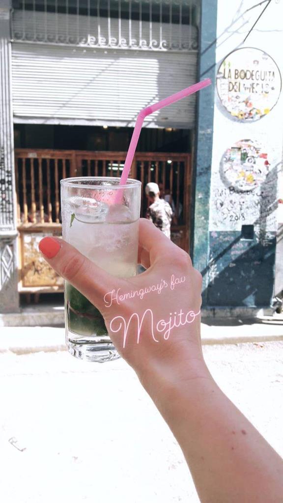Hemingway kedvenc mojitoja a La Bodeguita del Mediban