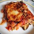 Melanzane di mozzarella - avagy vega rakott padlizsán