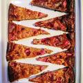 Cukor- és zsíradékmentes epres joghurtos sütemény