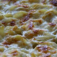 Tejszínes-hagymás krumpli