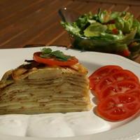 Krumplispalacsinta-torta